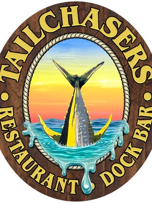 The logo for the new Tailchasers Restaurant & Dock Bar near 123rd Street in Ocean City.