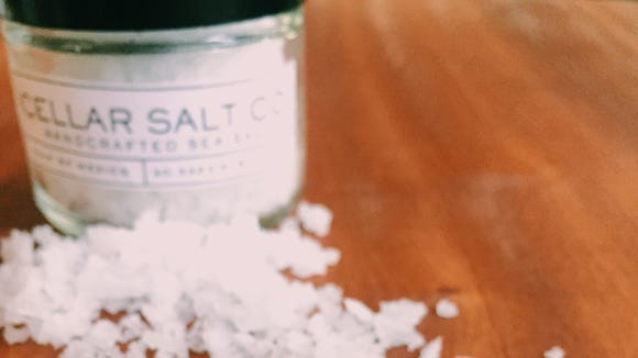 Jeremy Conner has launched a Kickstarter campaign for his Gulf of Mexico sea salt business, Cellar Salt Co.