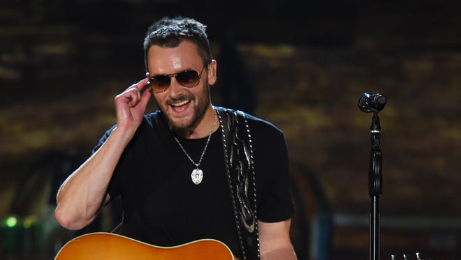 Eric Church received five ACM nominations.
