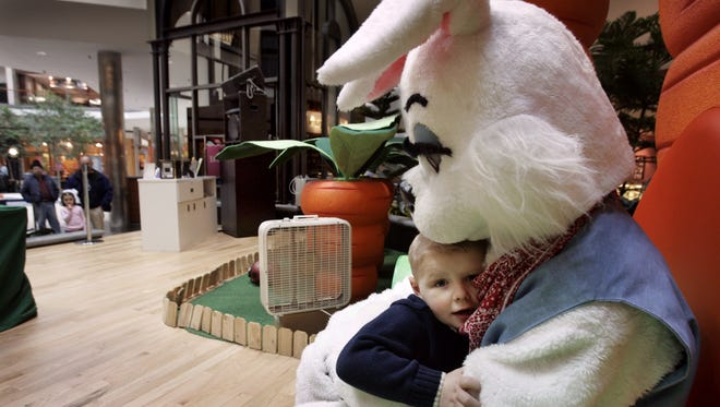 The Easter Bunny will be visiting Southridge Mall soon.