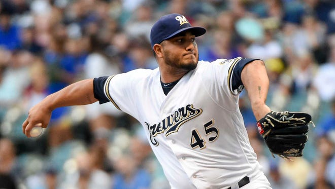 Jhoulys Chacin has held opponents to a .227 batting average and compiled a respectable 1.217 WHIP.