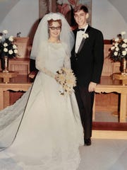 David and Linda Baker of York celebrated their 50th