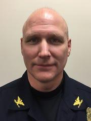 Fountain City Police Chief Aron Tutt