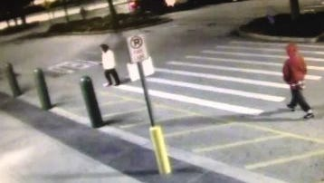 Melbourne police are searching for help in finding a pair of men who they say participated in a purse snatching in a Melbourne Walmart last week. Video, taken by a surveillance camera, shows two men, who they believe grabbed a woman's purse from behind, walking back and forth in the store parking lot.