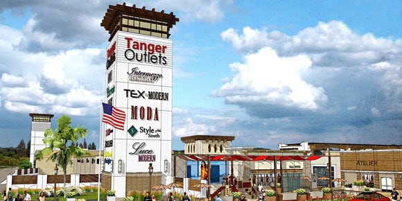 Stores at Tanger Outlets: What could