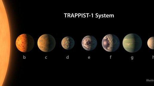 "NASA just put seven ""new Earths"" under its microscope -- er, telescope."