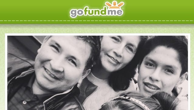 A family photo posted on the GoFundMe page raising money for funeral expenses for Reyda LaMadrid of Harrison.