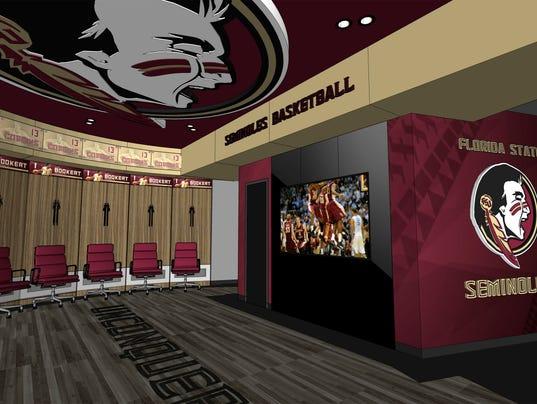 New Fsu Basketball Locker Rooms Are Next Phase Of Tucker