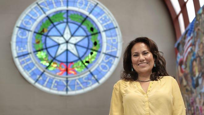 El Paso County Judge Veronica Escobar.