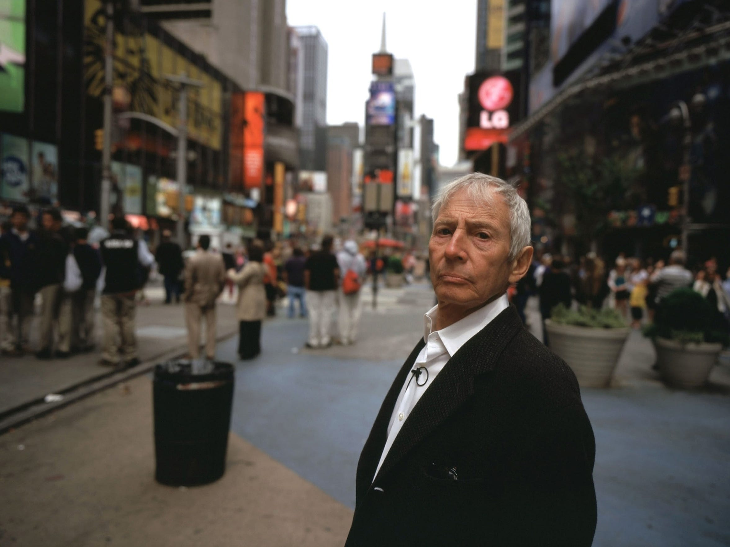"""Robert Durst in HBO's """"The Jinx: The Life and Deaths"""
