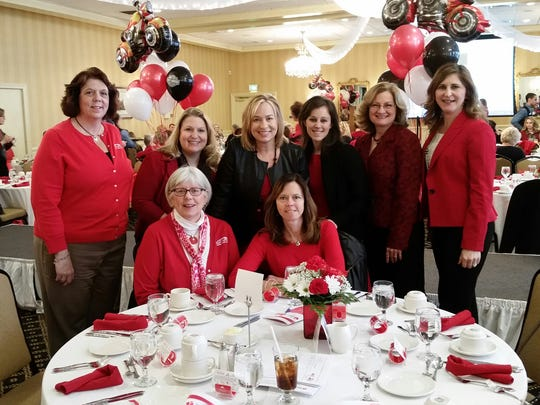 First Capital FCU sponsored a table at the Go Red for Women Luncheon in York.