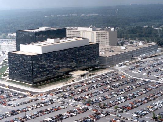NSA headquarters column