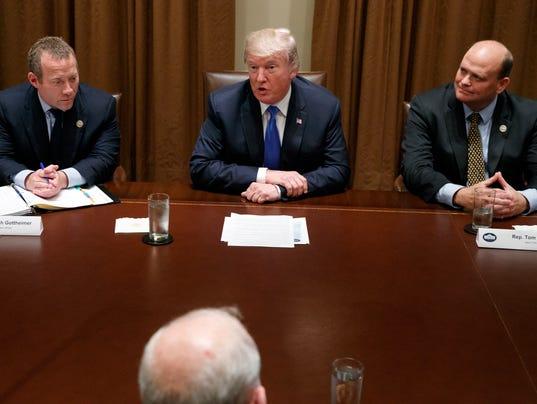 Donald Trump, Tom Reed, Josh Gottheimer