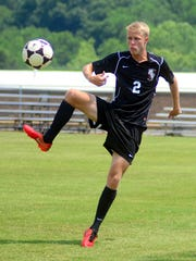 Station Camp High senior defender Tanner Carter helped lead the Bison to a 23-2 record and a spot in the Class AAA state semifinals.