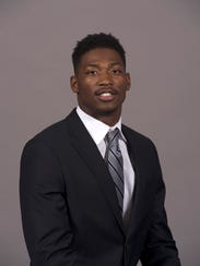Redshirt freshman wide receiver Damonte Coxie.