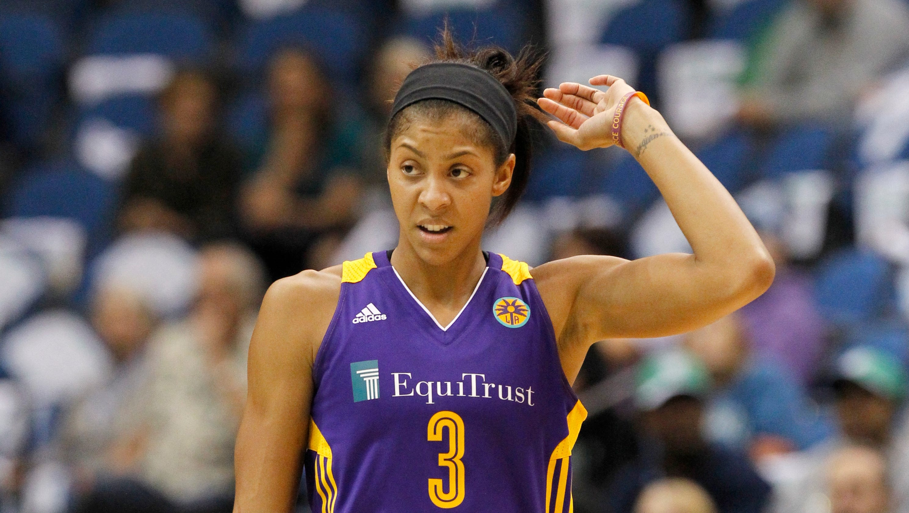 Candace Parker lifts Sparks over Lynx to force Game 3 Candace Parker