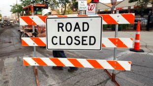The Michigan St. bridge over the Milwaukee River will be closed for repairs Tuesday.