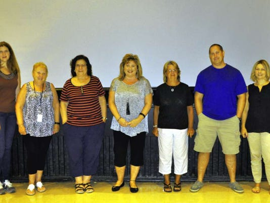 Teachers, staff, administrators recognized for service in