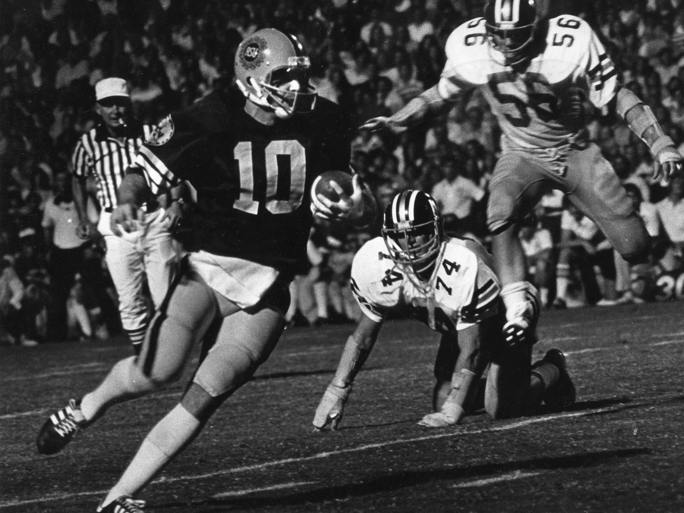 Frank Kush opened a revolving quarterback door between