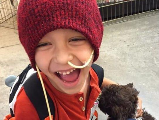 Bentley Brazlovitz was diagnosed with embryonal rhabdomyosarcoma,