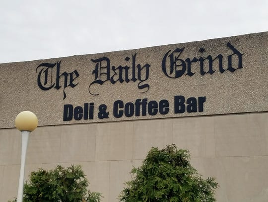 Find The Daily Grind downtown inside the Professional