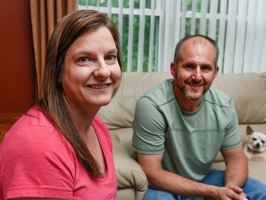 Foster parents Jim and Jackie Feiler talk Wednesday,