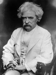 Mark Twain, whose real name Samuel Clemens, married