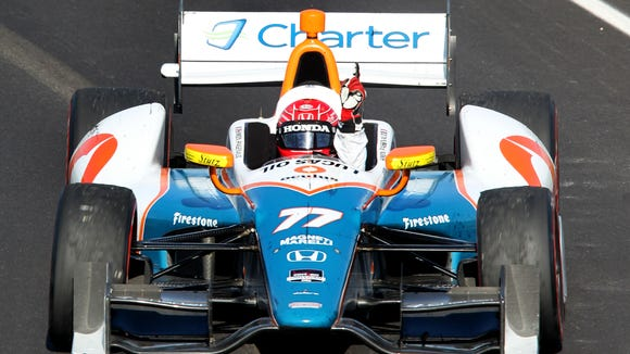 Simon Pagenaud has won three IndyCar races in the past year