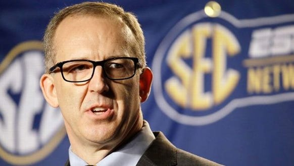 Southeastern Conference commissioner Greg Sankey has