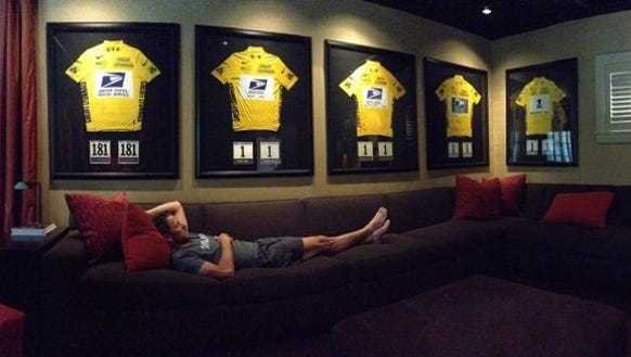 Here's the post of Lance Armstrong the Stephen Frears