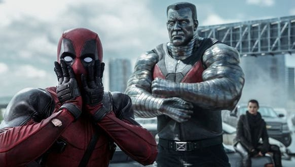 """Deadpool"" is one of the highest-grossing R-rated films"