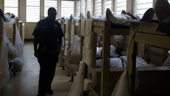 An inmate worker strike at William C. Holman Correctional