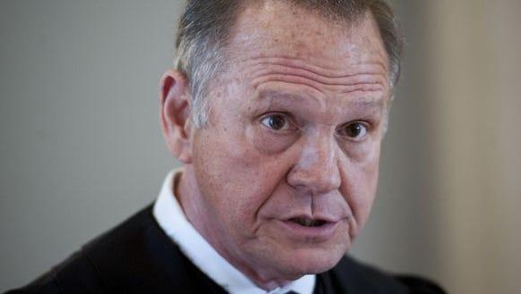 Chief Justice Roy Moore