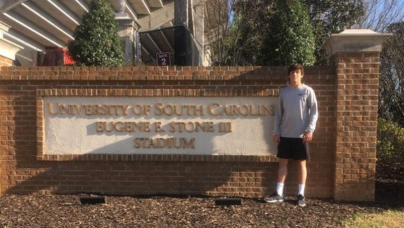 Asheville High senior Aidan O'Brien has committed to