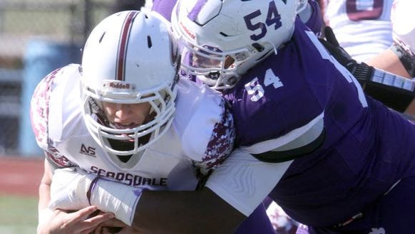 Cedrice Paillant (54) was one of six New Rochelle players