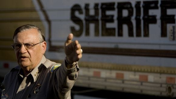 sc 1 st  AZCentral.com & Roberts: Arpaio: u0027Tents ... going to stayu0027