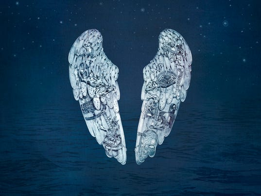 Coldplay Ghost Stories cover