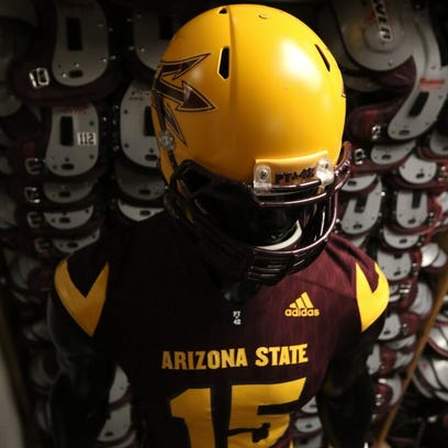 ASU football Adidas uniforms