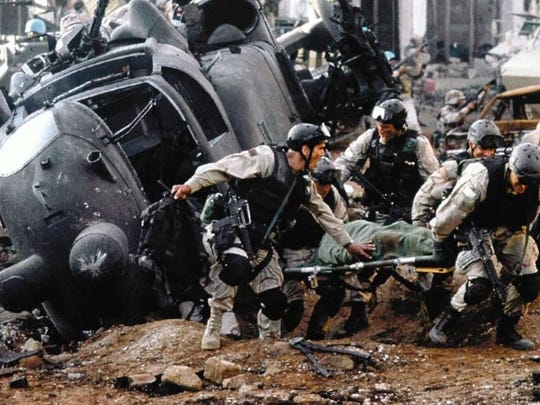 """Black Hawk Down"" will play 3 p.m. Aug. 4 and 5 p.m."
