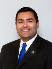 Union County Freeholder Chairman Sergio Granados