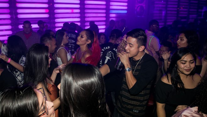 Partygoers danced the night away at the W in Tumon, which held its grand reopening party on July 1, 2017.
