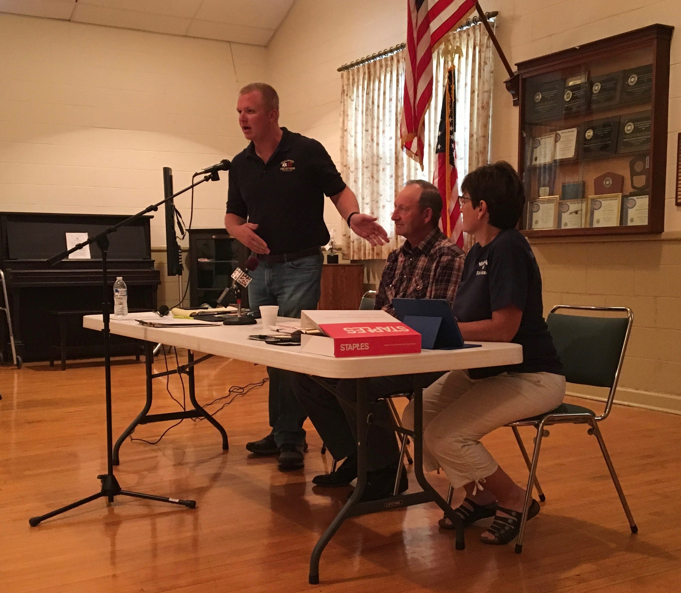 middlebrook voices fire rescue concerns at community meeting rh newsleader com