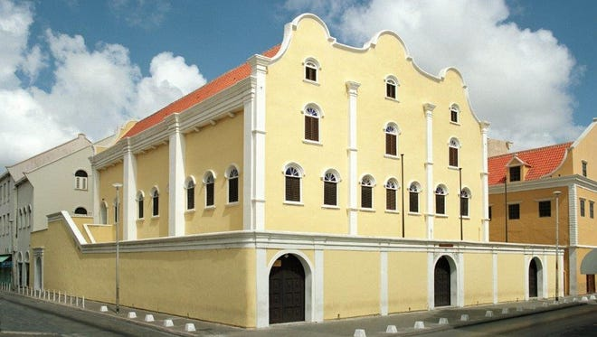 The Mikve Israel-Emanuel Synagogue in downtown Willemstad, Curacao, is the oldest continuously-operated synagogue in the Western Hemisphere. Courtesy of Mikve Israel-Emanuel