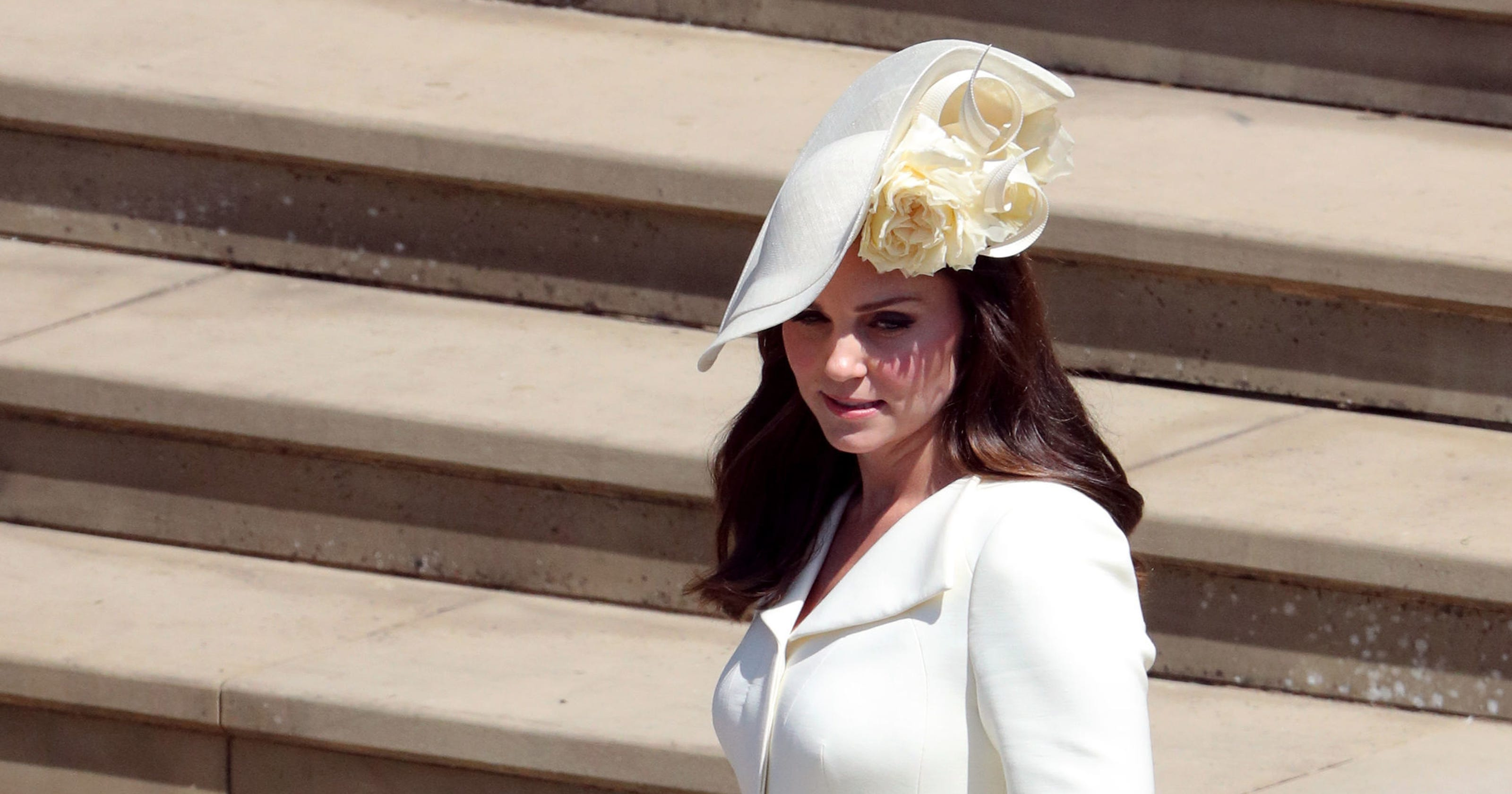 044c1083bfdb2 Duchess Kate did an outfit repeat at Harry and Meghan s royal wedding