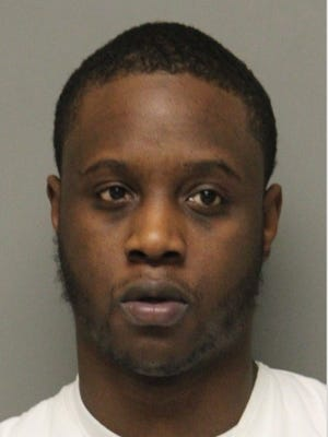 Raymond Robinson Jr., 23, of Smyrna, has been charged with carrying a concealed deadly weapon, possession of a deadly weapon by prohibited person, endangering the welfare of a child and possession of heroin and marijuana.