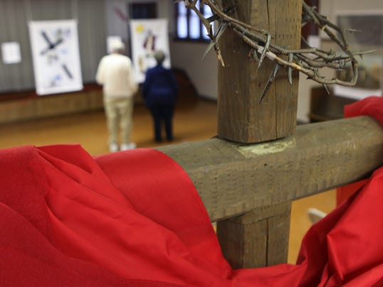 Stations of the cross Muncie