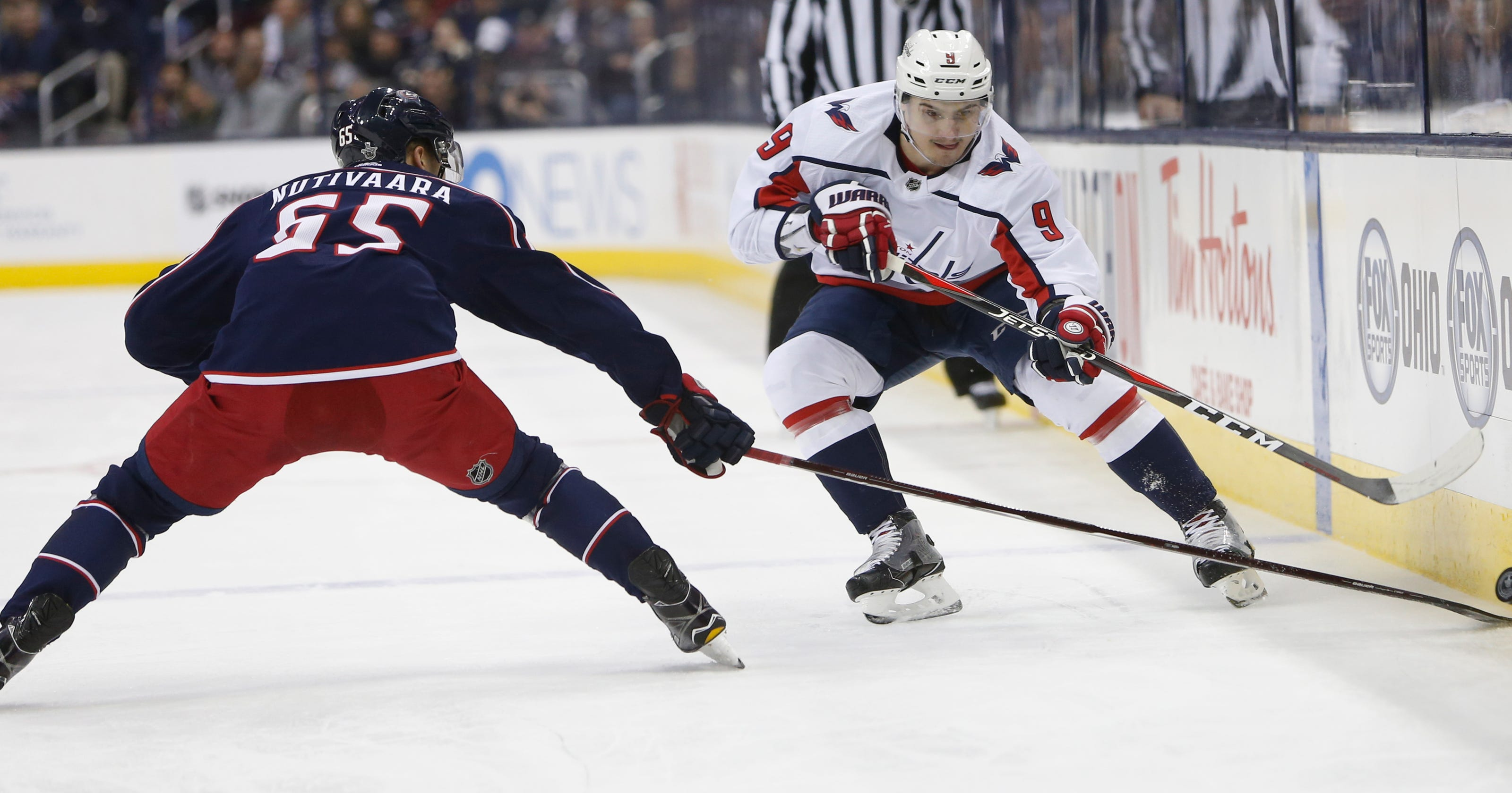 Caps top Blue Jackets 4-1 to even series at 2 games each 2b828367c