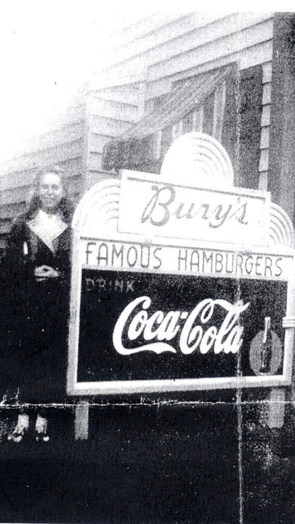 Bury's Famous Hamburgers had as many as 11 locations across York County.