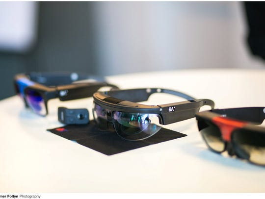 The ODG R-7 is an augmented reality device whose guts
