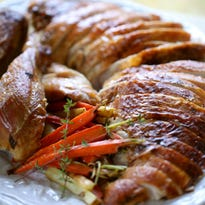 Brining turkey provides for moist meat and tender meat